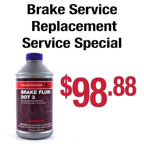 Brake Fluid Replacement Service Special