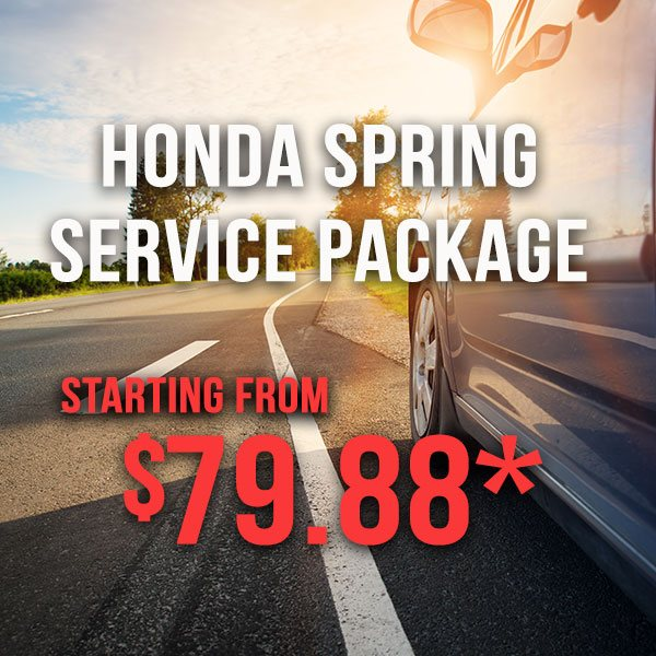 Honda Spring Service Package