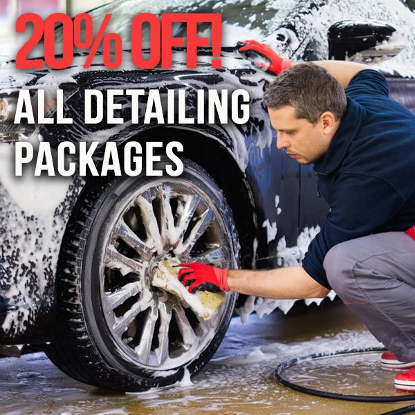 Detailing Packages – 20% OFF!