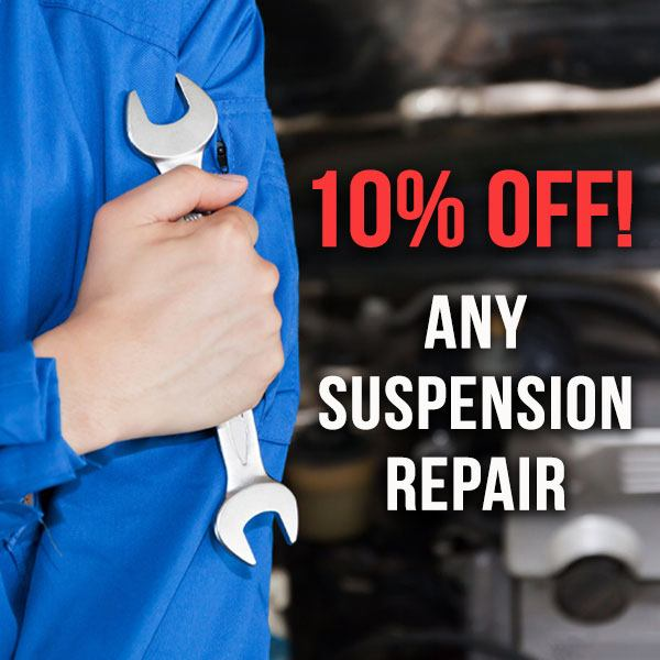 10% OFF Any Suspension Repairs