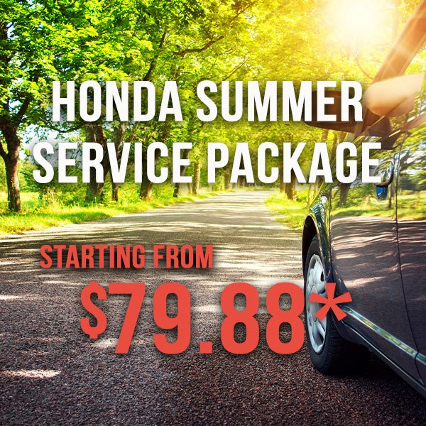 Honda Summer Service Package