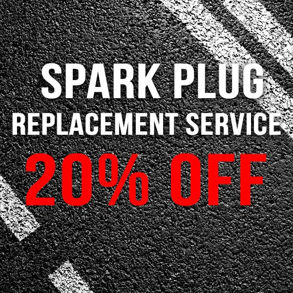 20% OFF – Spark Plug Replacement Service